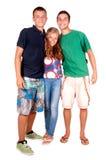 Adolescente y muchachos Fotografía de archivo libre de regalías