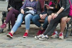 adolescentes Fotos de archivo libres de regalías