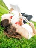 Adolescentes al aire libre Imágenes de archivo libres de regalías