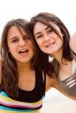Adolescentes alegres Imagens de Stock