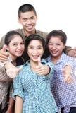 Adolescentes asiáticos Imagen de archivo