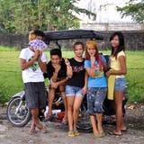 Adolescentes asiáticos Fotografía de archivo libre de regalías