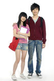 Adolescentes asiáticos imagem de stock royalty free