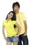 Adolescentes asiáticos Imagens de Stock Royalty Free