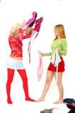 Adolescentes coloridos 2 Imagem de Stock