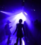 Adolescentes da dança imagens de stock