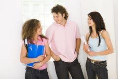Adolescentes da escola Fotografia de Stock