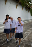Adolescentes de Tailândia Imagem de Stock