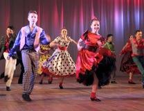 Adolescentes del baile Foto de archivo