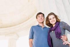 Adolescentes del Washington DC Imagen de archivo libre de regalías