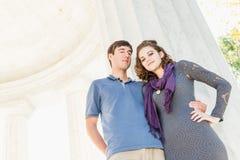 Adolescentes del Washington DC Fotos de archivo libres de regalías