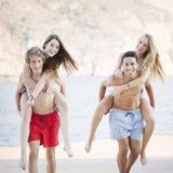 Adolescentes diversos Fotos de Stock