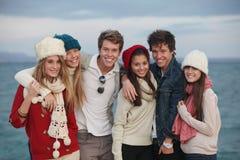 Adolescentes do grupo Imagens de Stock