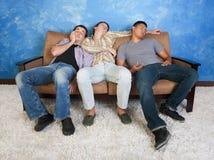 Adolescentes durmientes Fotografía de archivo libre de regalías