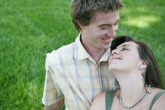 Adolescentes en amor Fotos de archivo libres de regalías