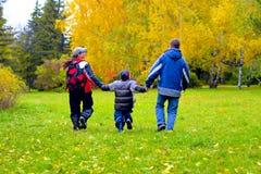 Adolescentes en el parque Imagen de archivo libre de regalías
