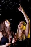 Adolescentes en el partido Fotografía de archivo