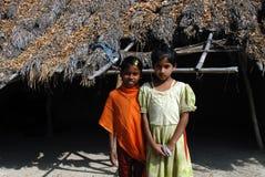 Adolescentes en la India Foto de archivo libre de regalías