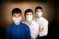 Adolescentes en la máscara Fotos de archivo libres de regalías