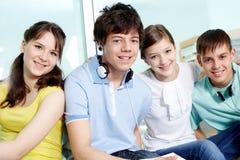 Adolescentes espertos Foto de Stock