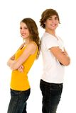 Adolescentes felizes Fotografia de Stock