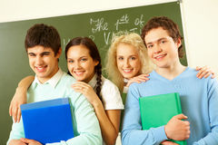 Adolescentes felizes Imagens de Stock Royalty Free