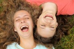 Adolescentes felizes Imagem de Stock