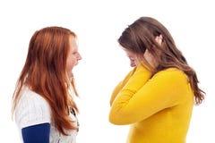 Adolescentes gritando Foto de Stock Royalty Free