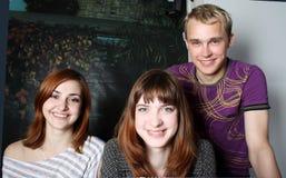 Adolescentes hermosos Fotografía de archivo libre de regalías