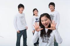 Adolescentes II Foto de archivo