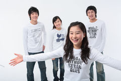 Adolescentes II Foto de archivo libre de regalías