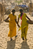 Adolescentes indianos Imagem de Stock Royalty Free