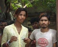 Adolescentes indios Fotos de archivo