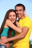 Adolescentes jovenes felices Fotos de archivo