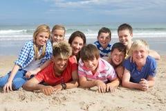 Adolescentes junto Fotografía de archivo