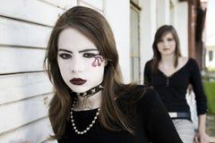 Adolescentes modernos imagem de stock
