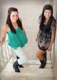 Adolescentes multirraciales Imagen de archivo libre de regalías
