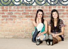 Adolescentes multirraciales Fotografía de archivo libre de regalías
