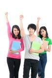 Adolescentes positivos Foto de archivo