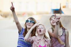 Adolescentes que se divierten Fotografía de archivo