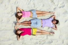 Adolescentes sonolentos Fotografia de Stock Royalty Free