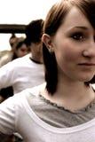 Adolescentes urbanos Fotografia de Stock
