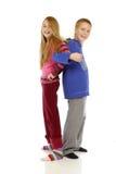 Adolescenti 1 Fotografia Stock