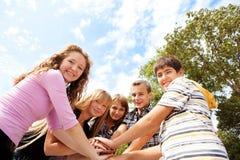 Adolescenti Immagini Stock Libere da Diritti