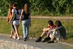 Adolescenti Fotografia Stock