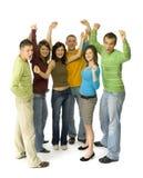 Adolescenti allegri Fotografie Stock Libere da Diritti