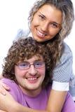 Adolescenti delle coppie Immagini Stock Libere da Diritti