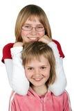 Adolescenti - isolati Fotografia Stock