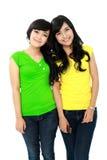 Adolescenti sorridenti Fotografia Stock
