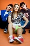 Adolescents photo libre de droits